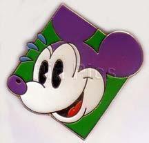 Disney  - Mickey Mouse face retired  Pin/Pins
