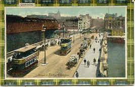 Jamaica Bridge and Trolley Glasgow vintage Post Card - $7.00