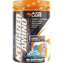 Axis Labs N 'ergize Blue Snow Cone 30 Servings - $24.49