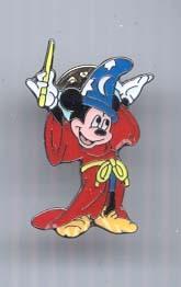 Disney Mickey Sorcerer full body retired rare pin/pins