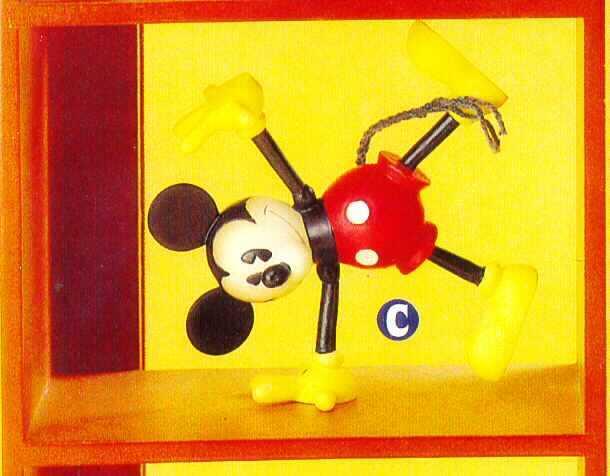 Disney Mickey  nostalgic vintage reproduction  Figurine