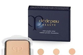 Cle De Peau Beaute Radiant Powder Foundation spf 23 COLOR: O60 - Very Deep NEW   - $61.70