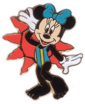 Disney Minnie  Bathing Beauty #5 Never Sold CM Pin/Pins - $24.99