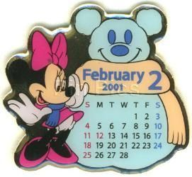 Disney Minnie Mouse Japan Calendar pin/pins