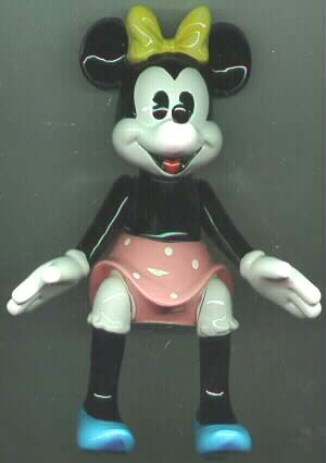 Disney Minnie Mouse Music Box Schmid Moveable