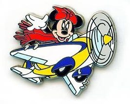 Disney  Minnie Mouse -  Pilot  an airplane Pin/Pins - $19.34