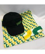 Subway Restaurant Bundle Hat, Yoga Band and Bandanna Employee Uniform, New - $15.03