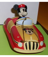 Disney Minnie Mouse race Car Ornament - $33.85