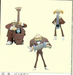 Disney Nightmare Be4 Christmas  Band Members Carded