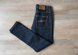 AUTHENTIC NUDIE GRIM TIM DRY DIRT ORGANIC JEANS MENS 30/32 W30 L32 - $45.00