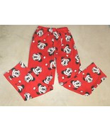 Disney Womens Mickey Mouse Pajamas Pants Size Small For Winter,Fall, Hol... - $8.89