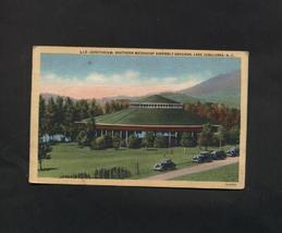 Vintage Postcard 1940s Southern Methodist Assembly Lake Junaluska NC Aud... - $4.99
