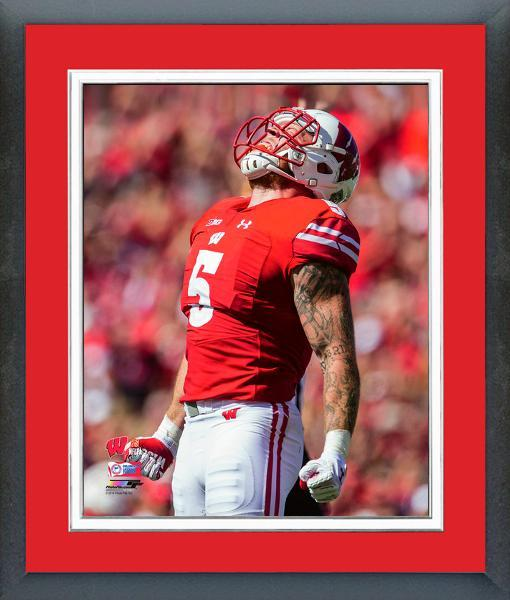 on sale 4db24 ed674 Garret Dooley 2017 Wisconsin Badgers -11x14 and 50 similar items