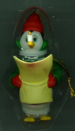 Disney Penguin 3 Caballeros Alex Maher Ornament