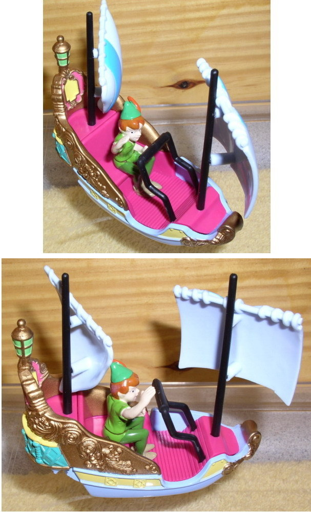 Disney Peter Pan Diecast Metal WDW boat ride