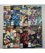 Lot of 16 Web of Spider-Man (1985 1st Series) from #29-126 - $39.60