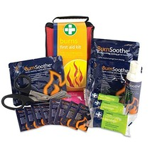 Reliance Medical Burn First Aid Kit in Red Stockholm Bag  - $43.00