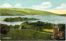 The Isle of Bute Scotland vintage Post Card - $5.00