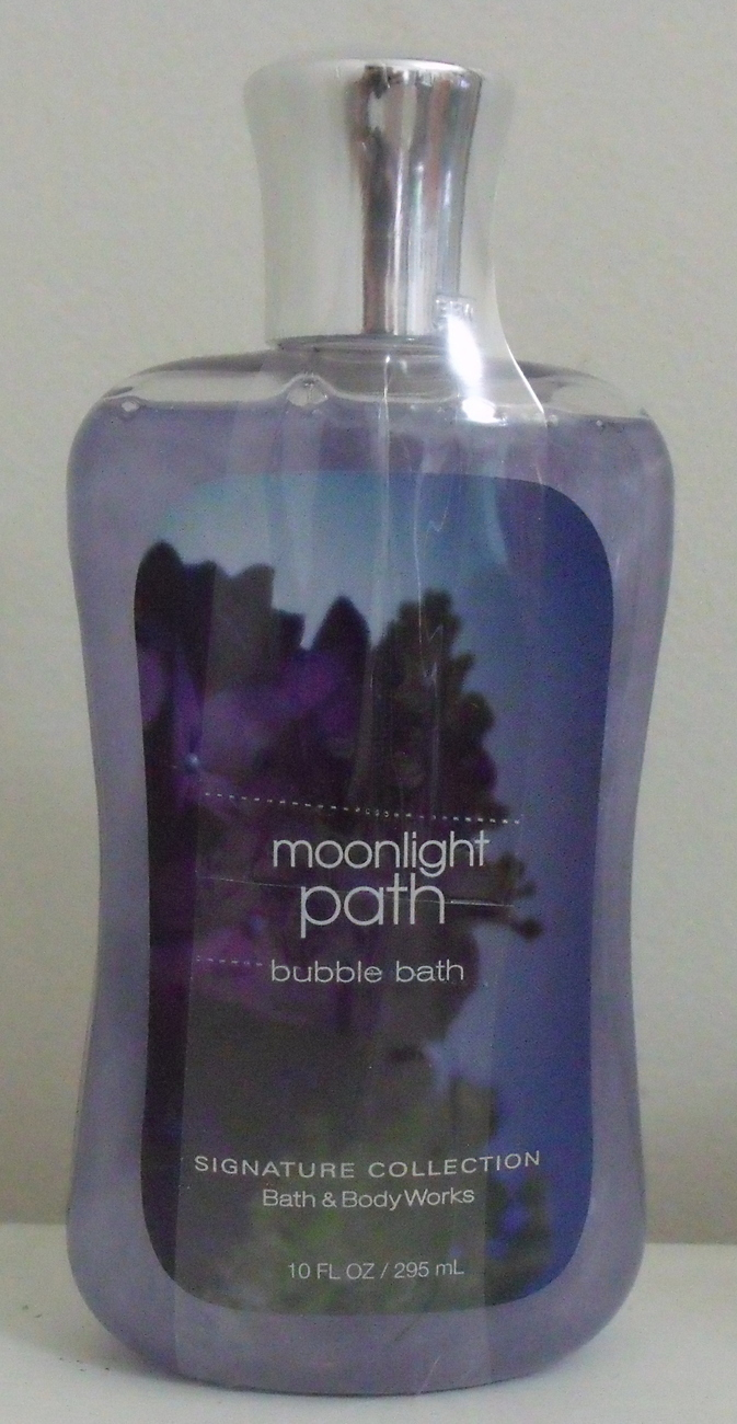 Bath and Body Works New Moonlight Path Bubble Bath 10 oz Bath and Body Works