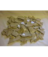 Debbie Travis Broken Porcelain Dinnerware Pieces Brown 2KG Box - $8.94