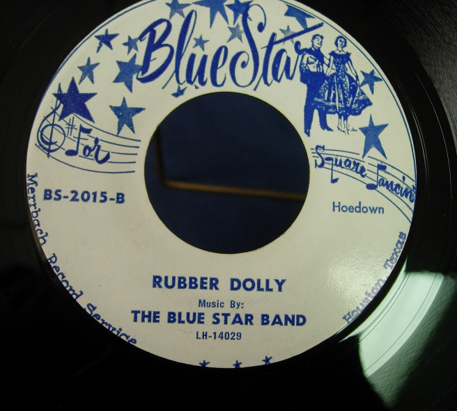 Blue Star Band - Sugarfoot Rag / Rubber Dolly - Blue Star Records BS-2015