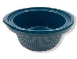 Rival Crock Pot Slow Cooker 3355 3350 3654 3656 3520 5-qt Blue Stoneware... - $19.70