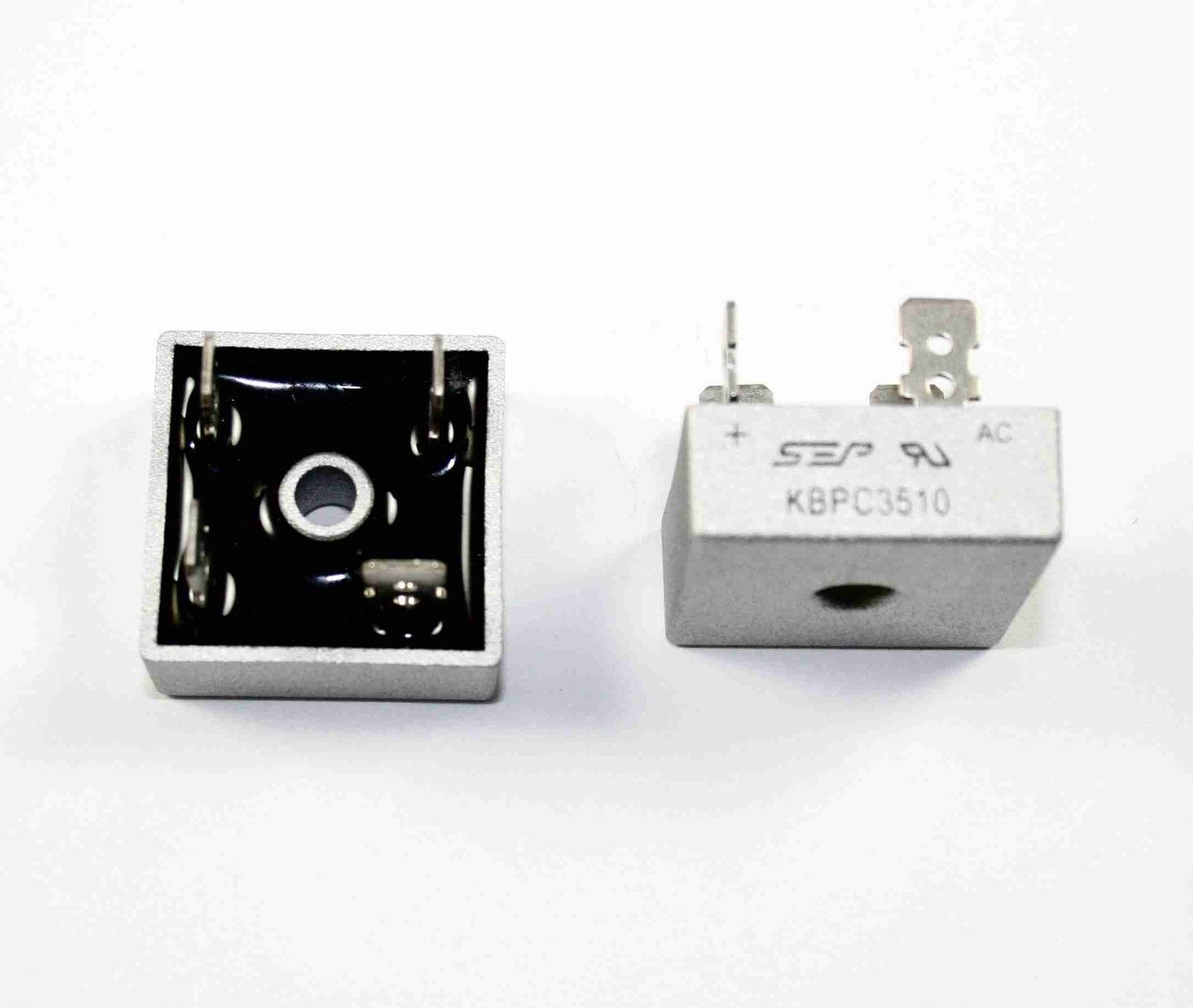 W10M General Instruments W10M Bridge Rectifier 0.5Amp 1000vrrm Lot of 10