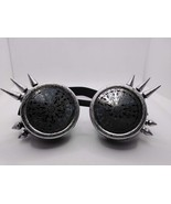 Steampunk kaleidoscope design goggles spike rave glasses victorian goggles - $14.40
