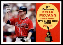 2007 Topps All Star Rookie Team Brian McCann #30 Insert - $0.50