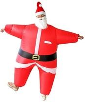 Airblown Inflatable Santa Costume Brand New In Package Battery Operated C2 - $49.49