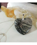 Necklace  Chohua Jasper Pendant Women Men Natural Healing Stone - $19.79