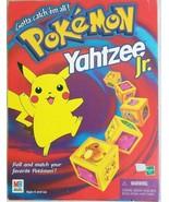 Pokemon Yahtzee Jr Game VTG 1995 Complete Vintage Kids  - $50.00