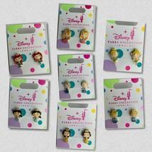 Disney Parks Princess Pierced Earrings Jewelry Girls Elsa Belle Tinker Bell ETC - $6.29
