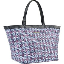 Tommy Bahama Large Travel Tote Bag, Pink/Blue, One Size
