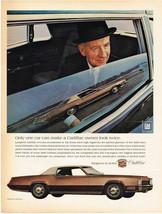 Vintage 1968 Magazine Ad Cadillac Fleetwood Eldorado Worlds Finest Perso... - $5.93