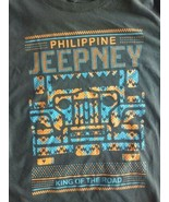Women's Kamisa By Kutura Philippine Jeepney shirt King Of The Road jungl... - $14.97
