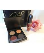 MAC Patricia Starr BOY ABOUT TOWN Eyeshadow Quad & Liquid Lip Color Bran... - $40.00