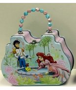 Satchel Box - Disney - Little Mermaid - Style A Metal Tin Box New 944107-1 - $14.49