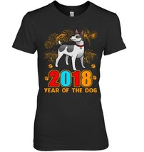 Rat Terrier Year Of The Dog Happy New Year 2018 Shirts - $19.99+