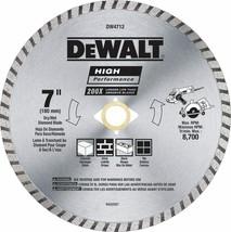 DEWALT Diamond Blade for Block and Brick, Dry/Wet Cutting, Continuous Ri... - $15.13