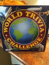 WORLD TRIVIA CHALLENGE BOARD GAME BY PATCH - NEW & SEALED - $8.31