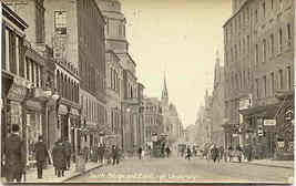 South Bridge Edinburgh University vintage Post Card - $7.00