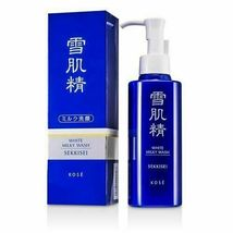 KOSE Sekkisei White Milky Wash 140ml Face Cleansers Brand New From Japan - $34.99
