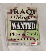 Iraqi Most Wanted Playing Cards NIP - $8.99