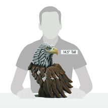 """14.5"""" Bald Eagle Bust by Edge Sculpture - Stunning Piece image 4"""