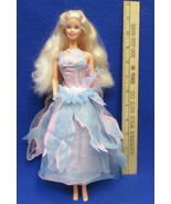 1999 Mattel Swan Lake Barbie Doll Princess w/ Wings Necklace Light Up Ba... - $11.87