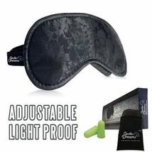 Unisex Lightproof Soft Organic Silk Comfortable Sleep Mask Relax Eye Pro... - €7,03 EUR