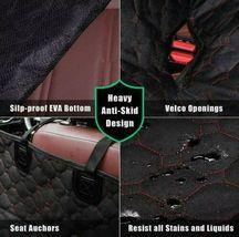 SUPSOO Dog Car Seat Cover Waterproof Durable Anti-Scratch Nonslip Back Seat Pet  image 6