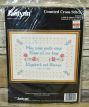 Vtg Janlynn Counted Cross Stitch Love's Gentle Ways Laurel Blake 143-01 1992 - $9.90