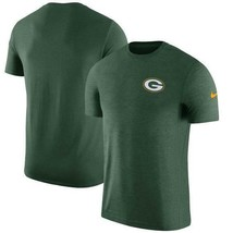Mens Nike Green Bay Packers Sideline Coaches Dri-Fit Tee 33% Off $45 XL ... - $29.99